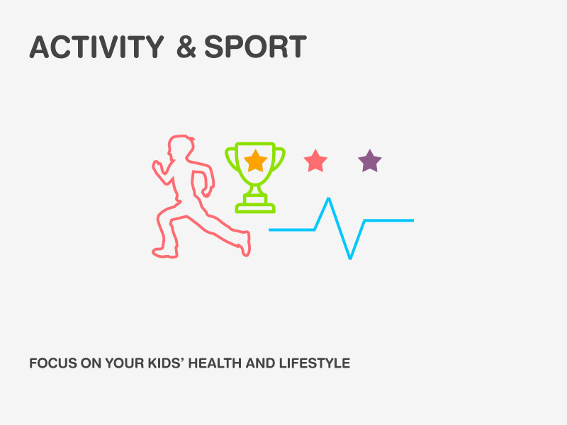 ACTIVITY & SPORT FOCUS ON YOUR KIDS' HEALTH AND LIFESTYLE